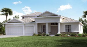 Sereno/Sereno-Executive/The Grande Charleston 3,353 sq. ft. 4 Bedrooms 4 Bathrooms 3 Car Garage 2 Stories Wimauma Fl