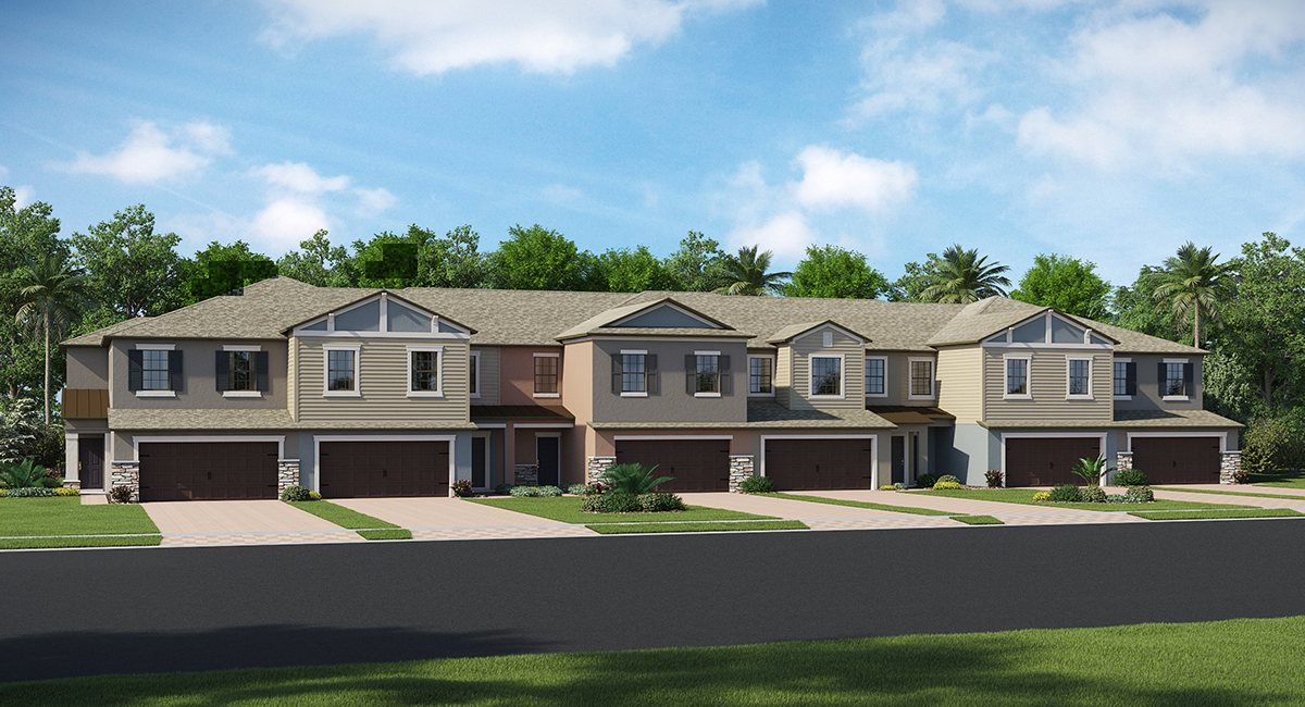 Bridgehaven New Townhomes  Community Tampa Florida