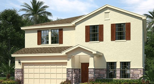 D.R. Horton Homes Avalon Park West Wesley Chapel Florida