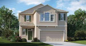 Union Park The Maryland 2,349 sq. ft. 4 Bedrooms 2.5 Bathrooms 1 Half bathroom 2 Car Garage 2 Stories Wesley Chpel Fl