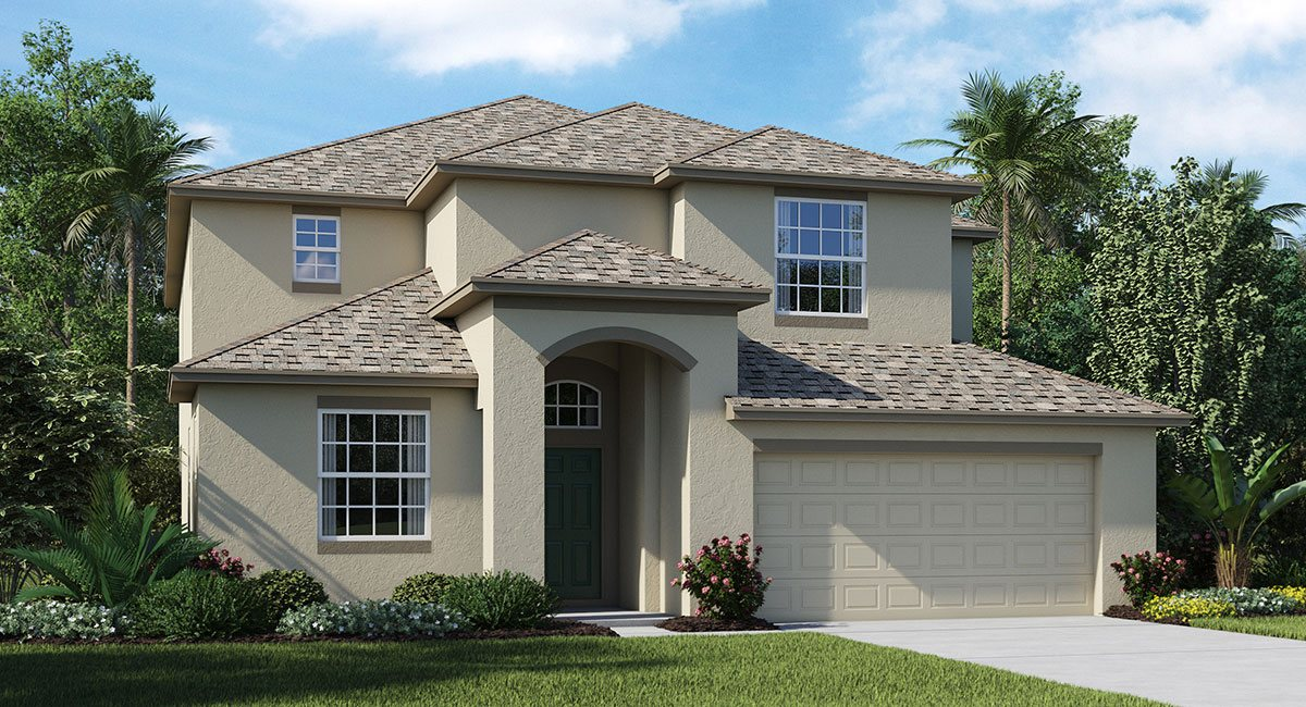 Lennar Homes Wilson Preserve Riverview Florida New Homes