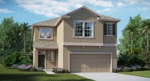 Belmont The New Hampshire 2,767 sq. ft. 4 Bedrooms 2 Bathrooms 1 Half bathroom 2 Car Garage 2 Stories Ruskin Fl
