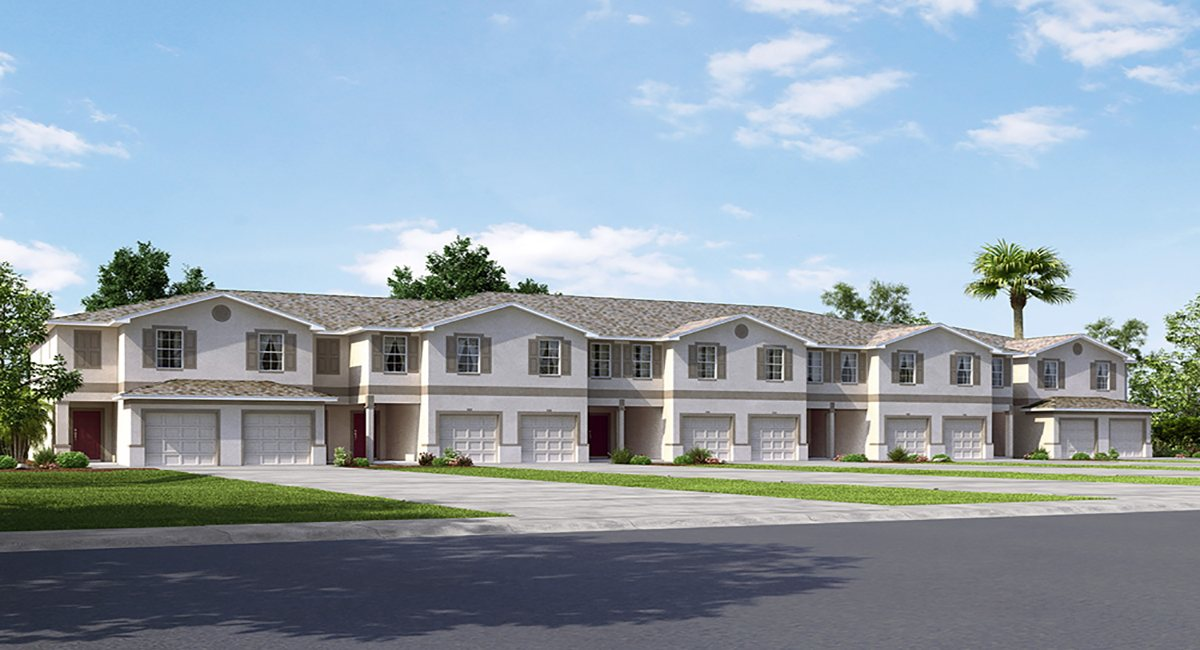 Ruskin Florida New Townhomes are Completed and Available Now