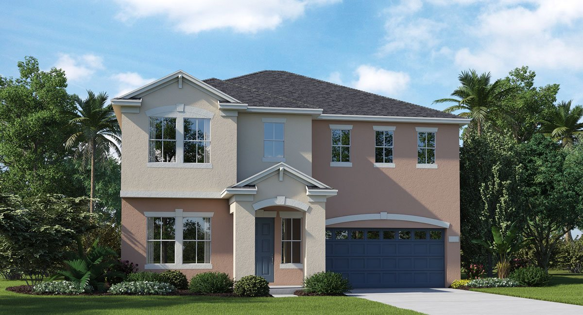 New Homes The Oaks at Shady Creek Riverview Florida 33579