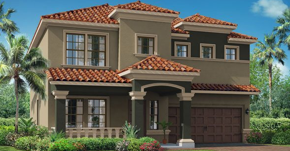 Orleans New Home Plan in Waterleaf 50 by Lennar