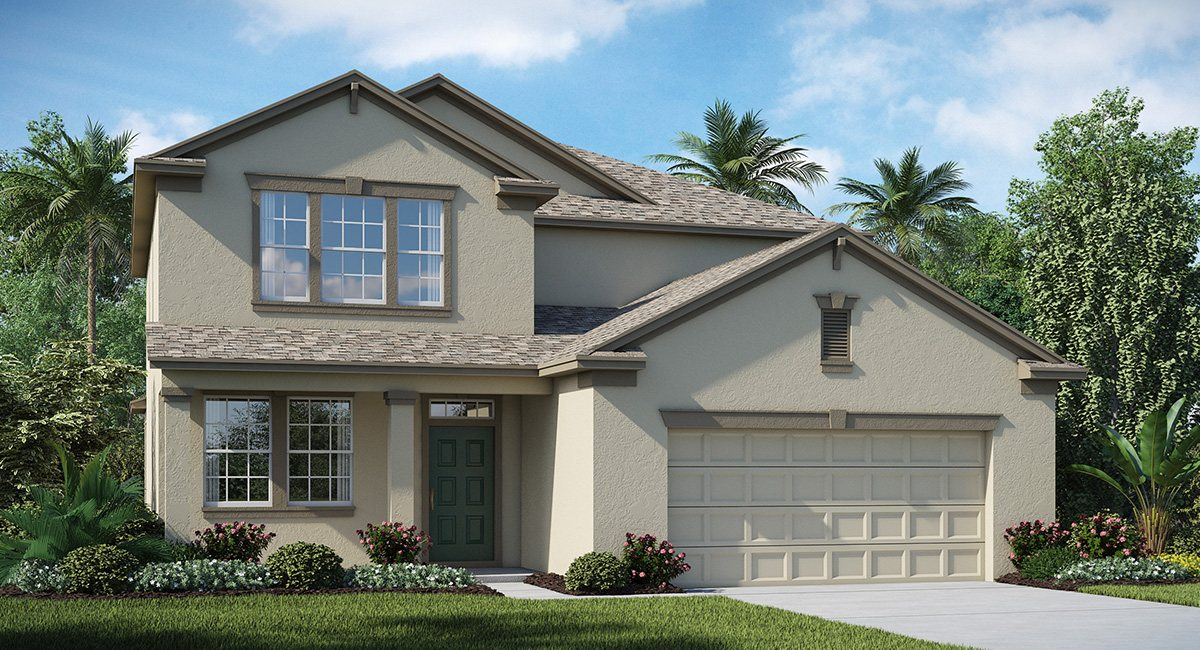 Connerton  The Pennsylvania 2,529 sq. ft. 4 Bedrooms 3 Bathrooms 2 Car Garage 2 Stories  Land O Lakes Fl