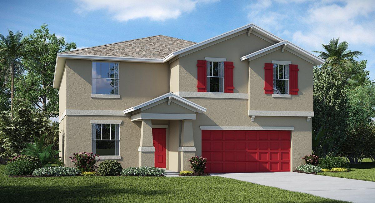 Hawks Landing The Richmond 3,076 sq. ft. 6 Bedrooms 3 Bathrooms 2 Car Garage 2 Stories Ruskin Fl