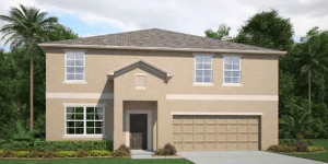 The Sequoia 3889 sq.ft. 6 Bedrooms 3 Bathrooms 3 Car Garage 2 Stories Riverview Florida