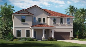 The Stonewood |  2 Story | 4 Bed | Game Room |2.5 Bath | 3 Car (T) | Riverview Fl