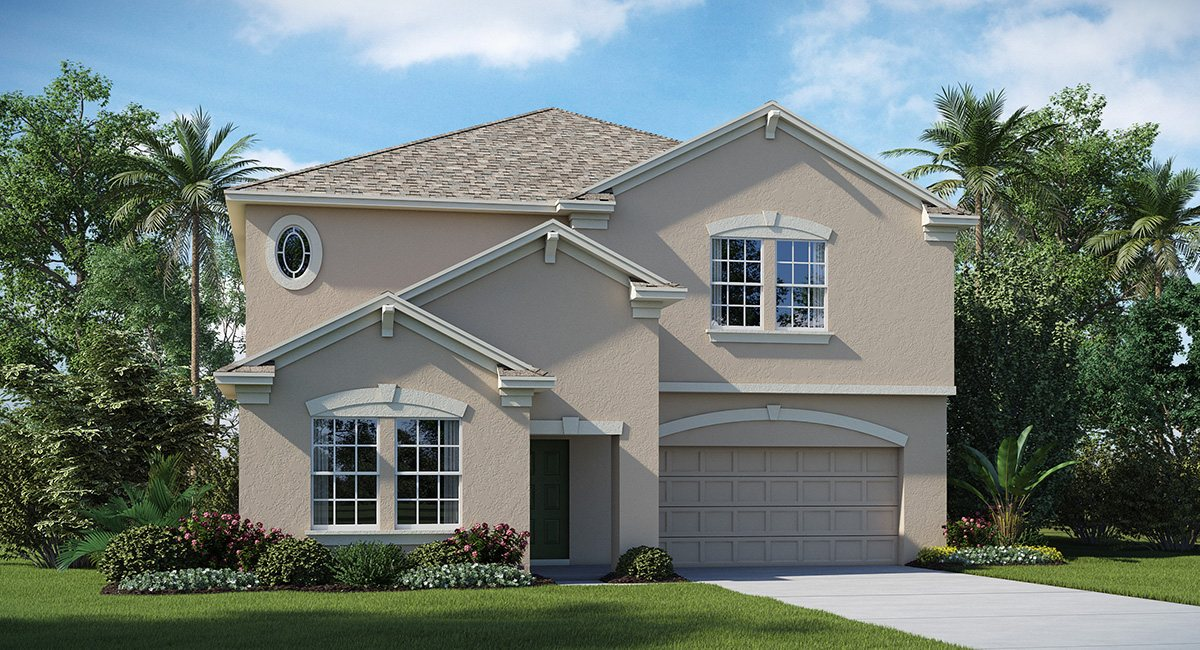 Belmont The Vermont 3,288 sq. ft. 5 Bedrooms 3 Bathrooms 3 Car Garage 2 Stories Ruskin Fl