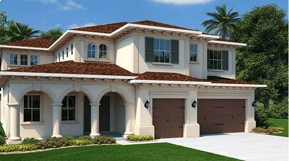 New  Homes  Waterleaf Riverview Florida