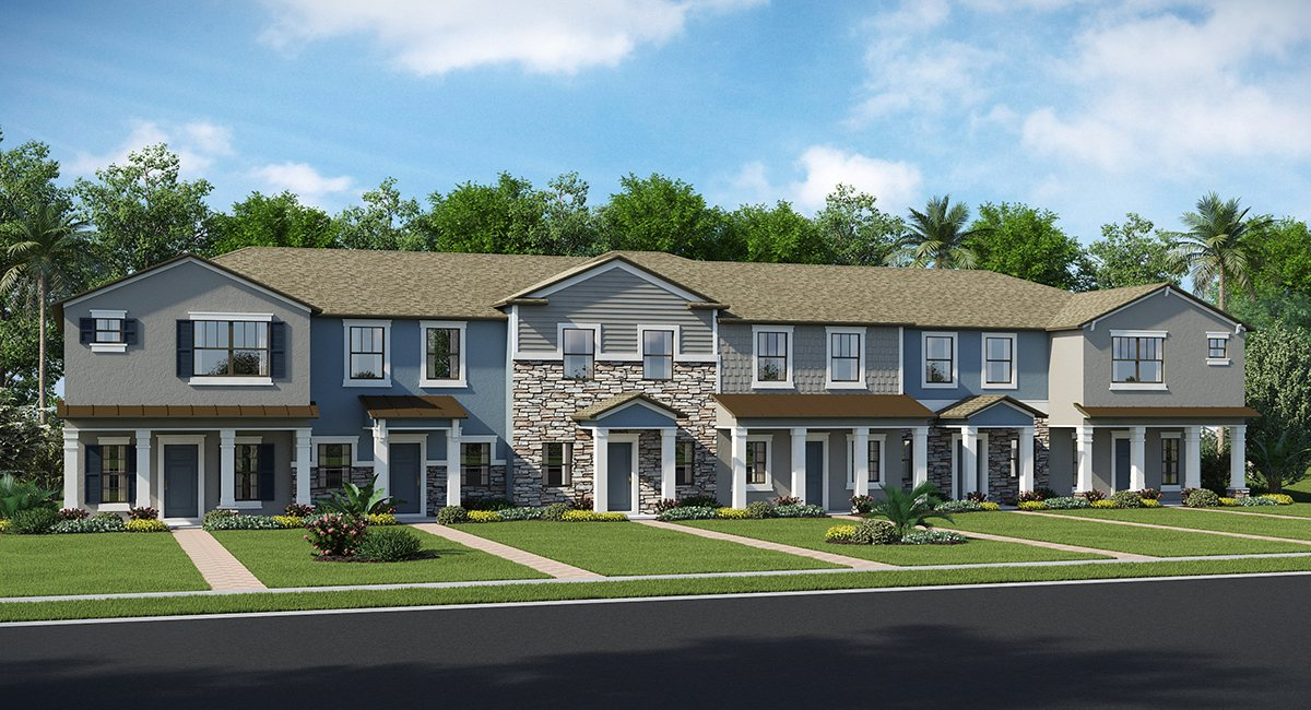 New Town Homes Models & Floor Plans The Arbors at Wiregrass Ranch: The Townhomes  Wesley Chapel Florida