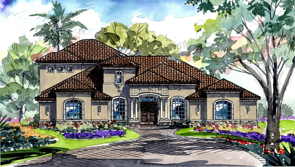 Stonelake Ranch The Florencia 4,432 square feet 4 bed, 4 bath, 4 car, 2 story Thonotosassa Fl