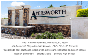 Read more about the article Ayersworth Glen Wimauma Florida 33598
