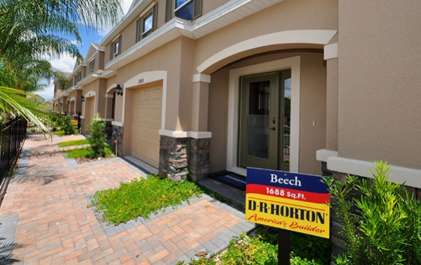 Lakeside Townhomes The Beech 1,689 square feet 3 bed, 2.5 bath, 1 car, 2 story Wesley Chapel F