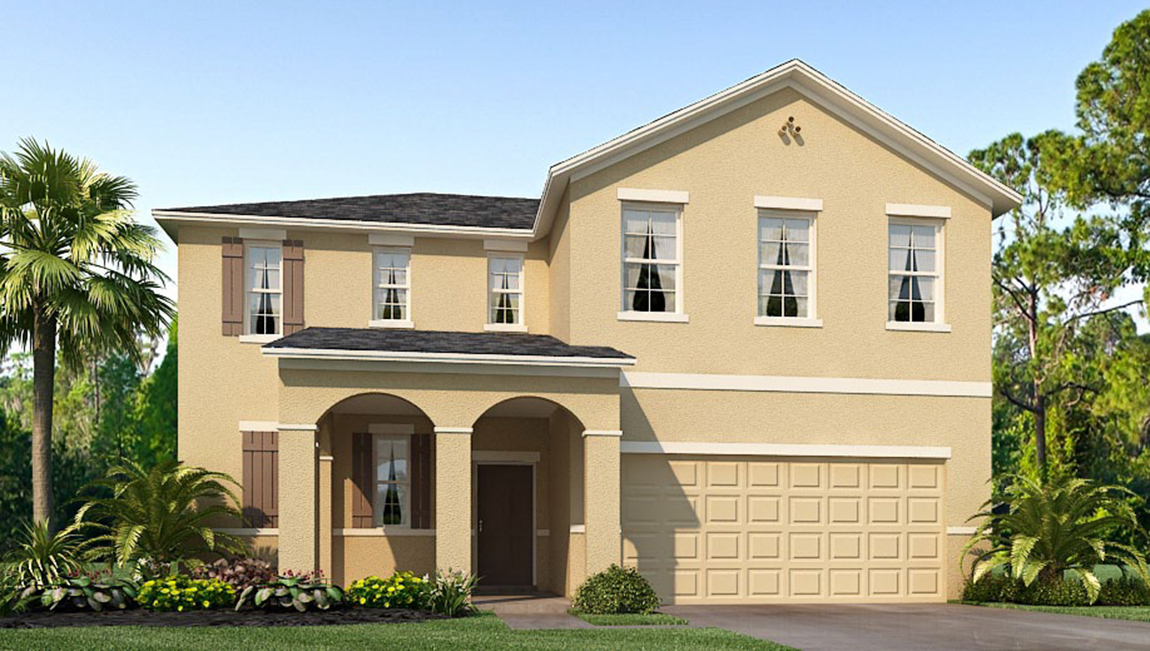 Avalon Park West The Belfort 2,394 square feet 4 bed, 2.5 bath, 2 car, 2 story Welsy Chapel F