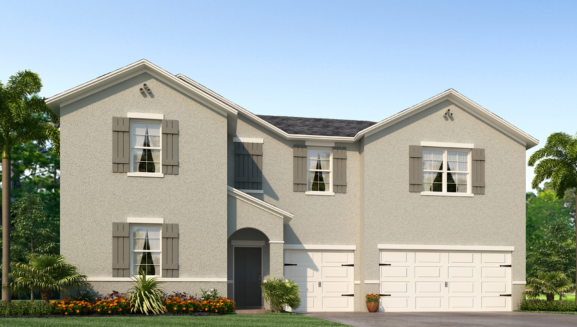 Avalon Park West The Canlers 3,169 square feet 5 bed, 2.5 bath, 3 car, 2 story Wesley Chapel Fl