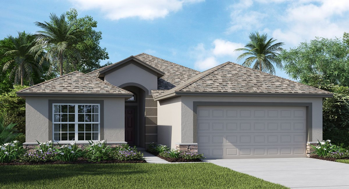 Hawks Point The Corsica 1,752 sq. ft. 4 Bedrooms 2 Bathrooms 3 Car Garage 1 Story Ruskin Florida