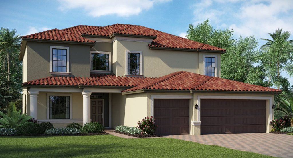 Concord-Station/The-Retreat The Dartmouth 2,952 sq. ft. 5 Bedrooms 3 Bathrooms 3 Car Garage 2 Stories Land O Lakes Fl