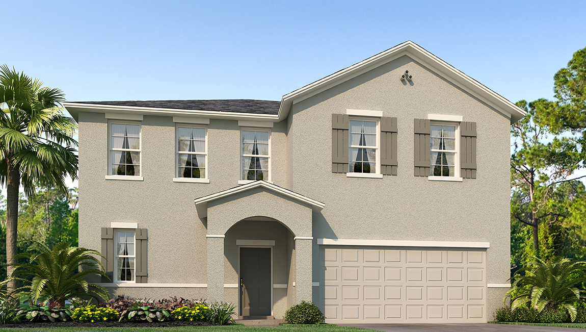 Riverview Meadows The Dijon 2,793 square feet 5 bed, 2.5 bath, 2 car, 2 story Riverview Fl