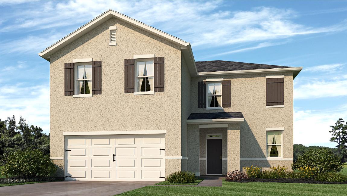 Sereno The Flora 2,263 square feet 4 bed, 2.5 bath, 2 car, 2 story Wimauma Fl