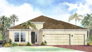 South Tampa Living The Hawthorne  2,558 square feet 4 bed, 3 bath, 3 car, 1 story South Tampa Fl