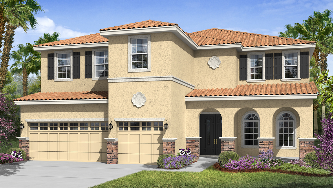 South Tampa Living The Marbella 4,363 square feet 5 bed, 4.5 bath, 2 car, 2 story South Tampa Fl