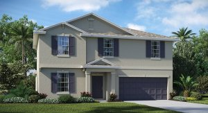 Stonegate-At-Ayersworth The  Raleigh 2,889 sq. ft. 5 Bedrooms 2 Bathrooms 1 Half bathroom 2 Car Garage 2 Stories Wiamuma Fl