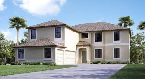 South Fork The Buckingham  3,711 sq. ft. 4 Bedrooms 3 Bathrooms 3 Car Garage 2 Stories Riverview Florida 33579