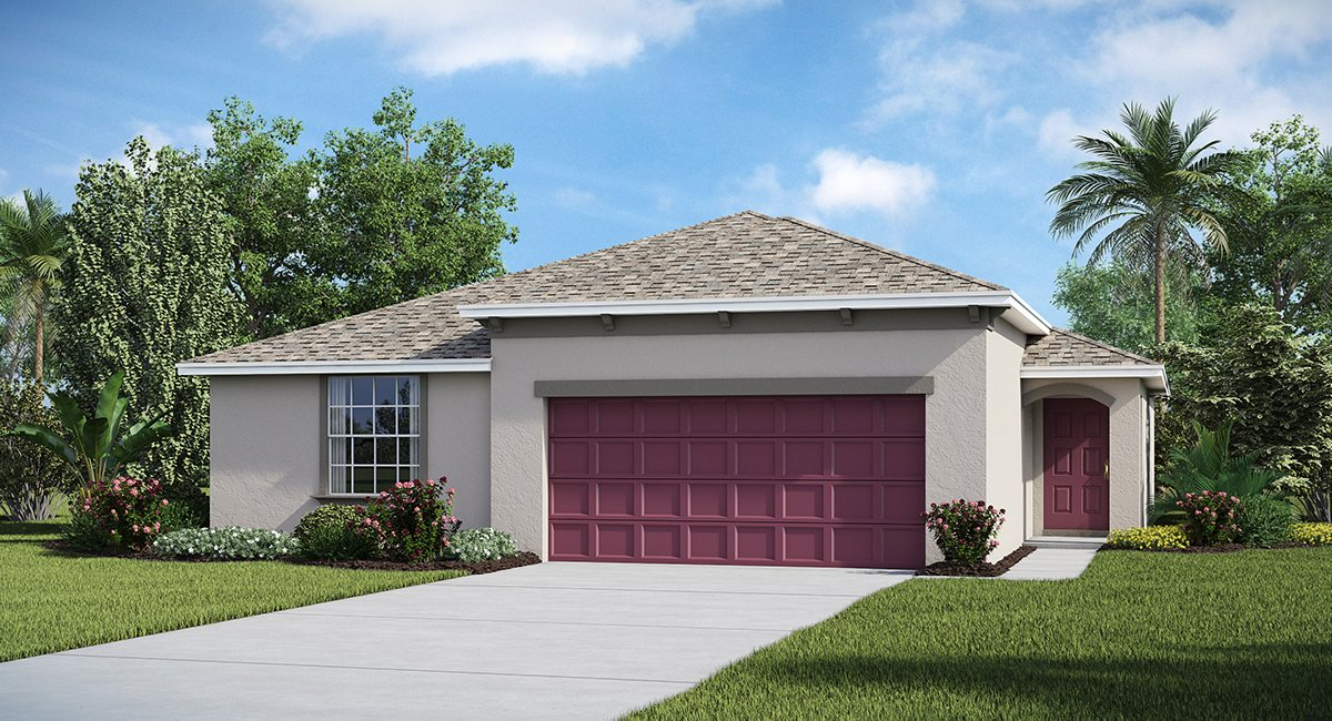 The Summit at Fern Hill The Harrisburg  1,798 sq. ft. 4 Bedrooms 2 Bathrooms 2 Car Garage 1 Story Riverview Florida 33578