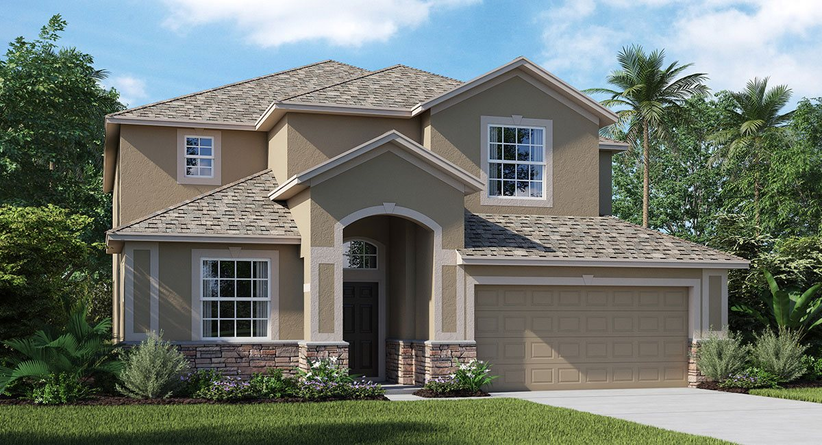 New Homes The Pointe at Summerfield Crossing Riverview Florida 33579