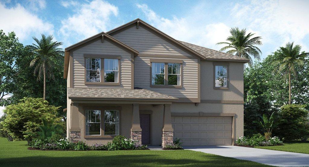 New Homes Heron Preserve at K-Bar Ranch New Tampa Florida 33647