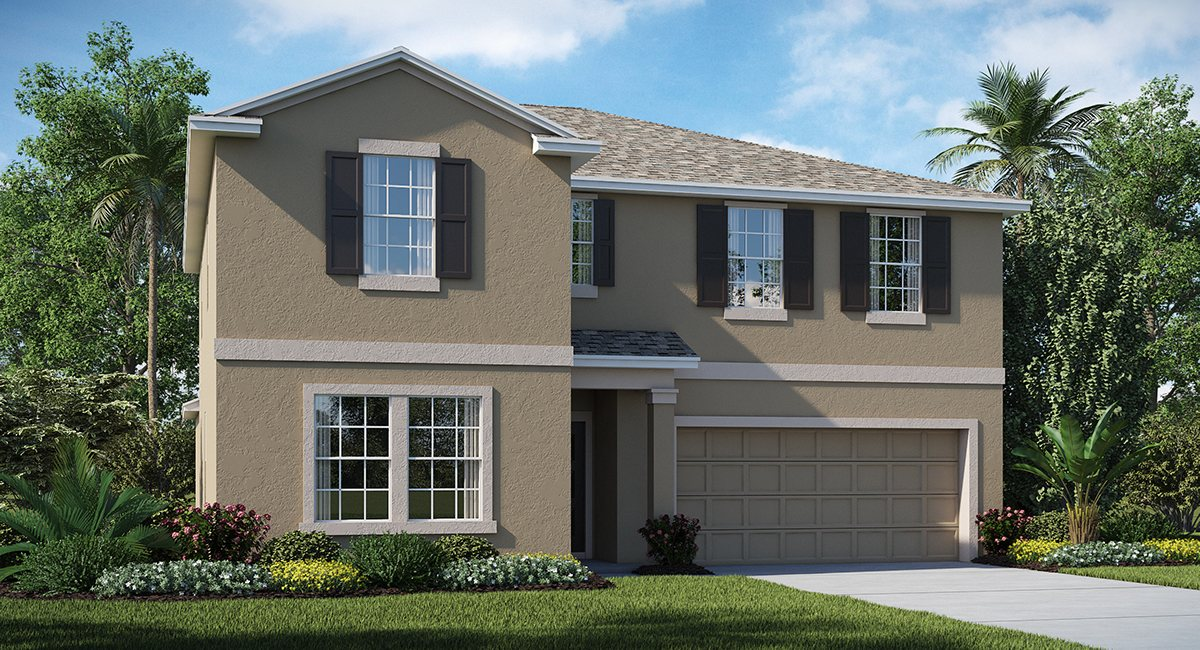 New Homes Hawks Landing Ruskin Florida 33570