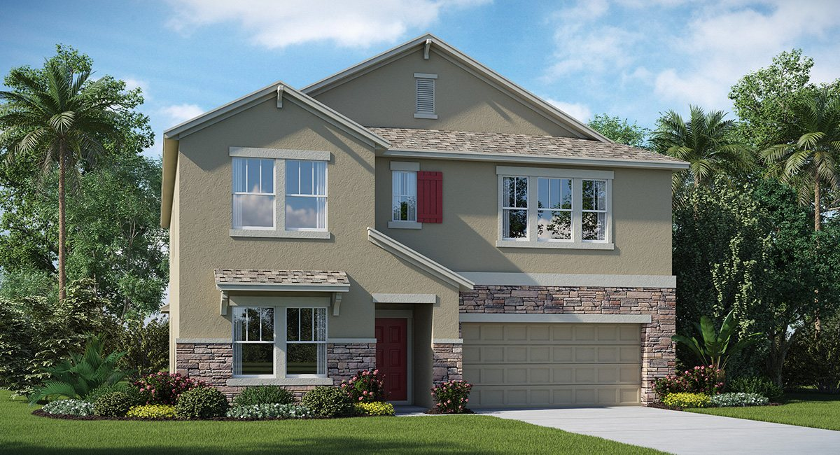 Affordable First Time Buyers Brand New Homes in Riverview Florida