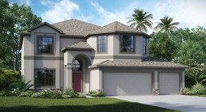 South Fork The Wolcott 3,127 sq. ft. 5 Bedrooms 3 Bathrooms 3 Car Garage 2 Stories Riverview Florida 33579