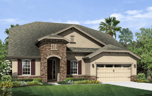New Homes Sunny Riverview Florida
