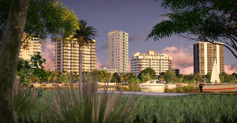 ECHELON ON PALM 624 S PALM AVE S,  SARASOTA, FL 34236 – New Construction