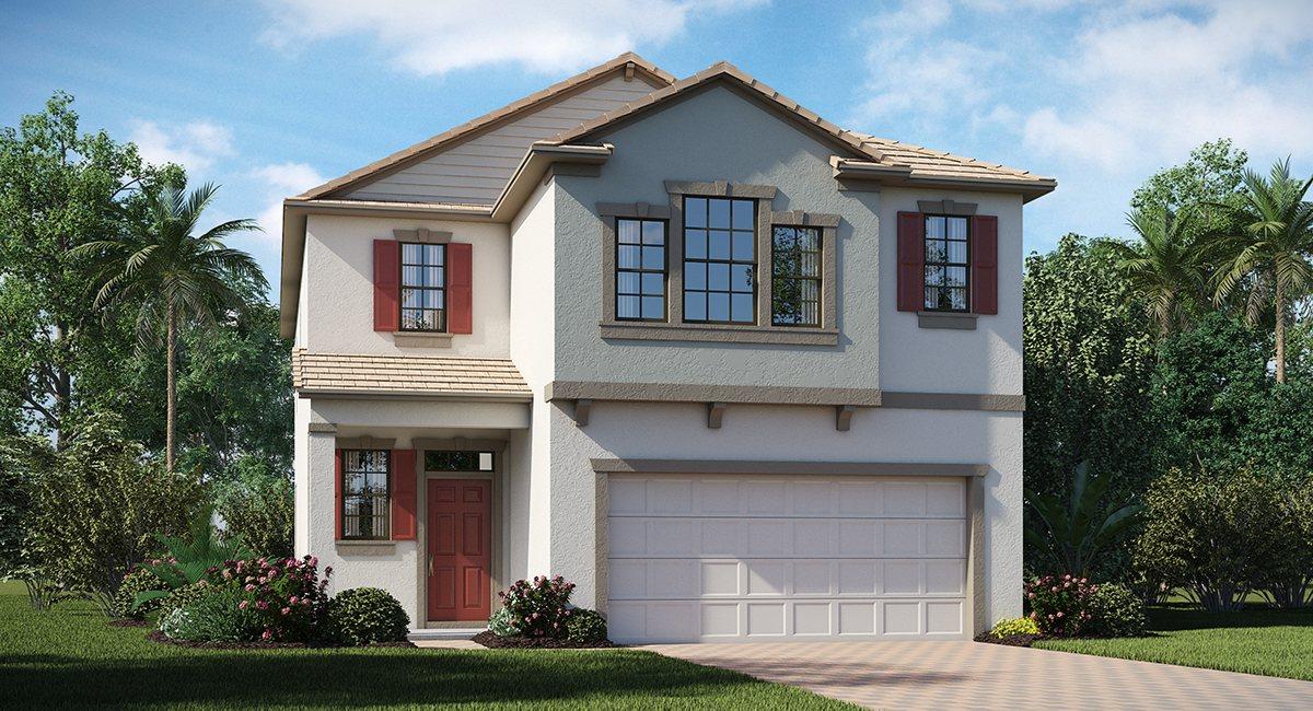 Brooker Elementary School & New Homes Brandon Florida