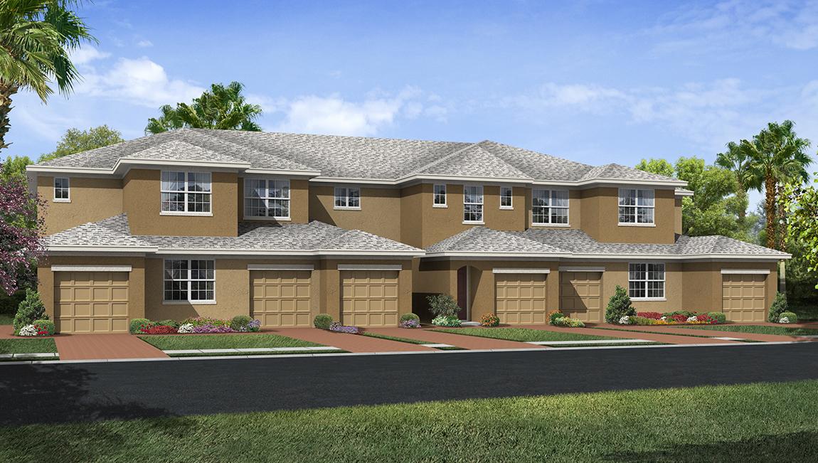 D.R. Horton Homes Palmer Oaks Condominiums Sarasota Florida
