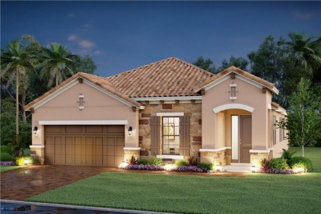 The Residences at Bougainvillea Place New Home Community Ellenton Florida