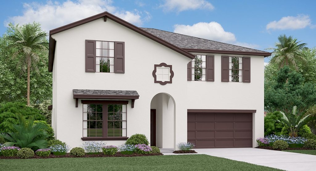 Twin Creeks: The Trenton Lennar Homes Riverview Florida New Homes Community