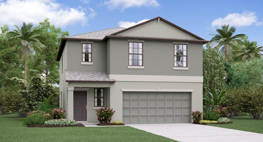 South Fork Lakes: TheAtlanta Lennar Homes Riverview Florida New Homes Community