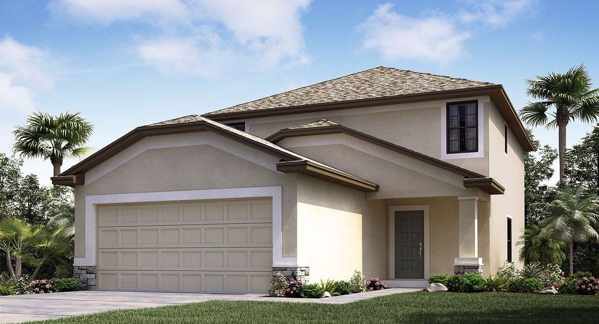 The St.Regis Model Tour Lennar Homes Tampa Florida