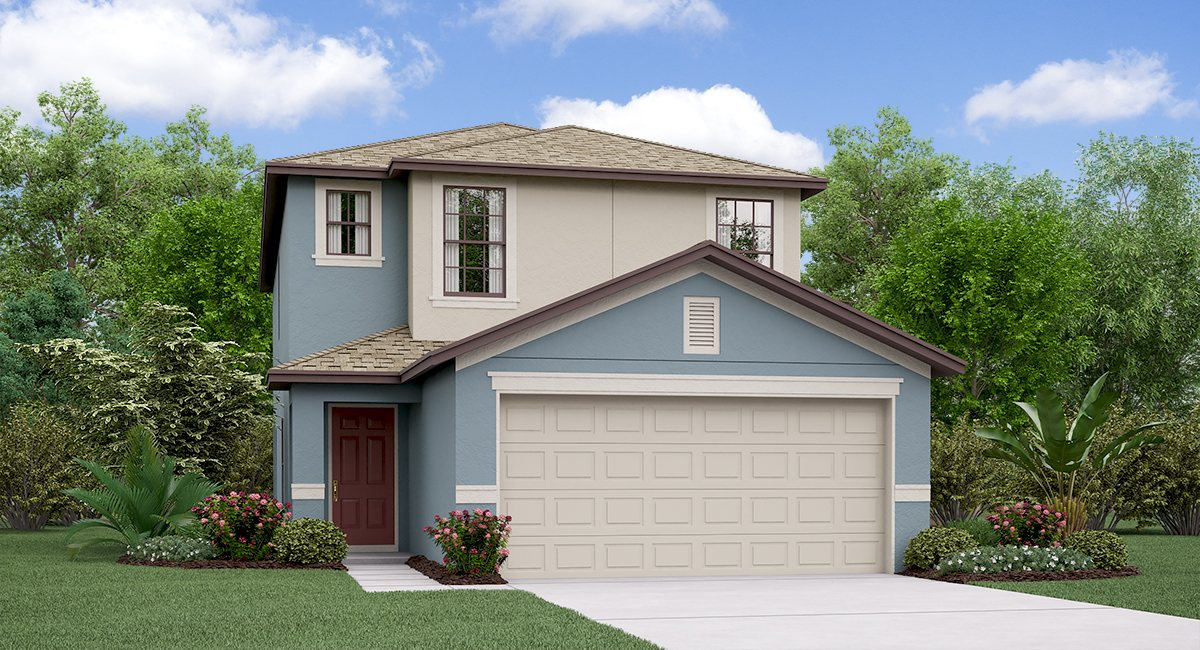 The Vanderbilt  Model  TouchstoneTour Lennar Homes Tampa Florida
