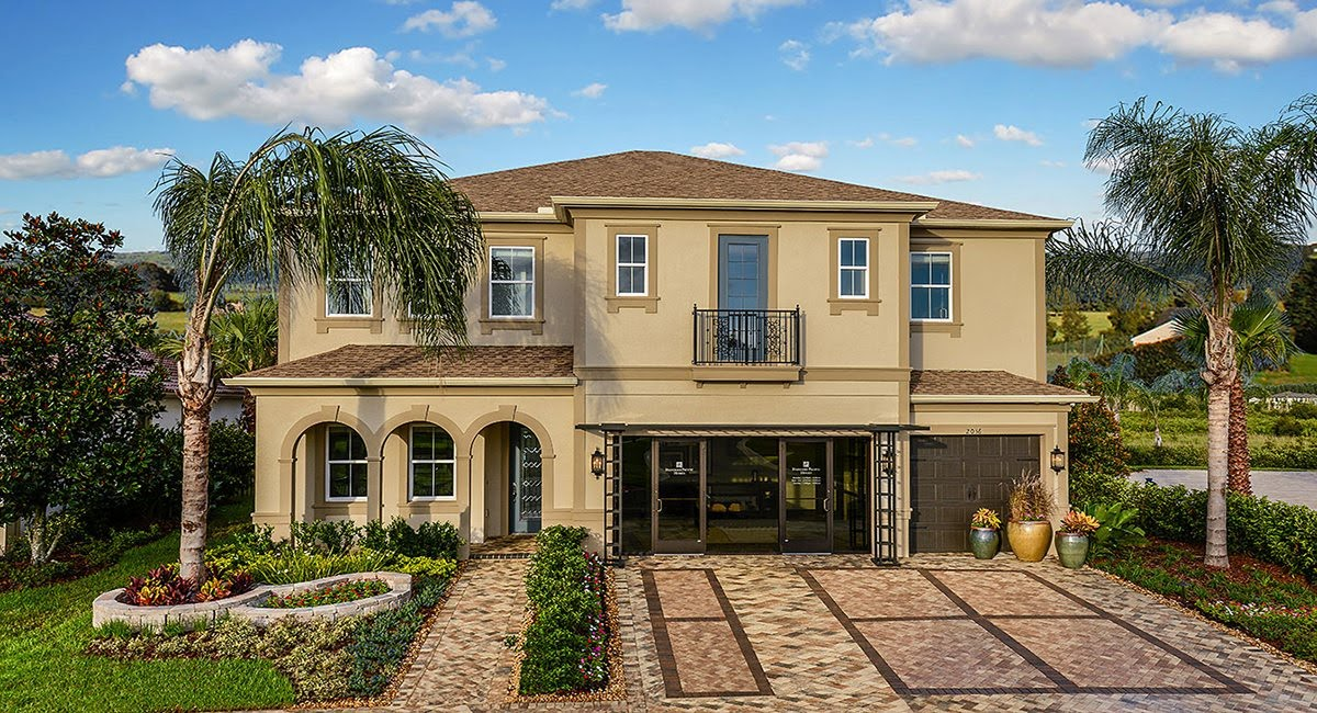 The Saratoga Model Tour Lennar Homes Tampa Florida