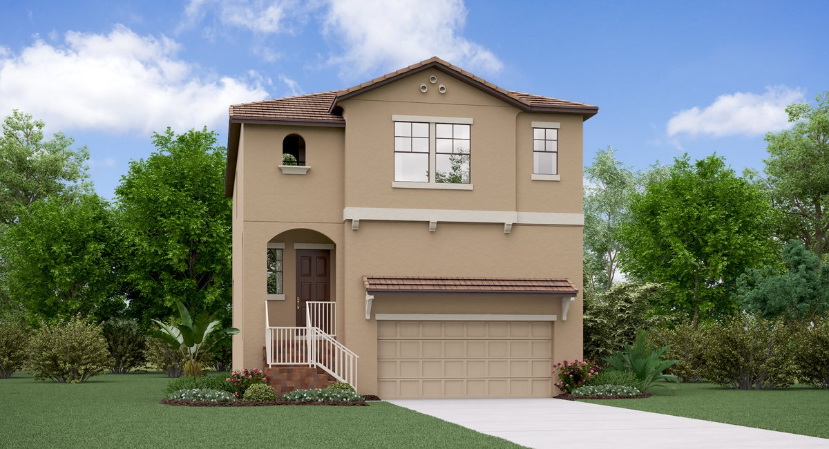 The Florida Model Tour Lennar Homes Southport South Tampa Florida