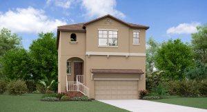 The Florida Model Tour Lennar Homes Southport South Tampa Florida