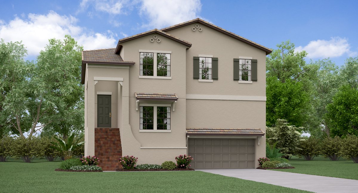 Southport The Indiana Model Tour Lennar Homes South Tampa Florida