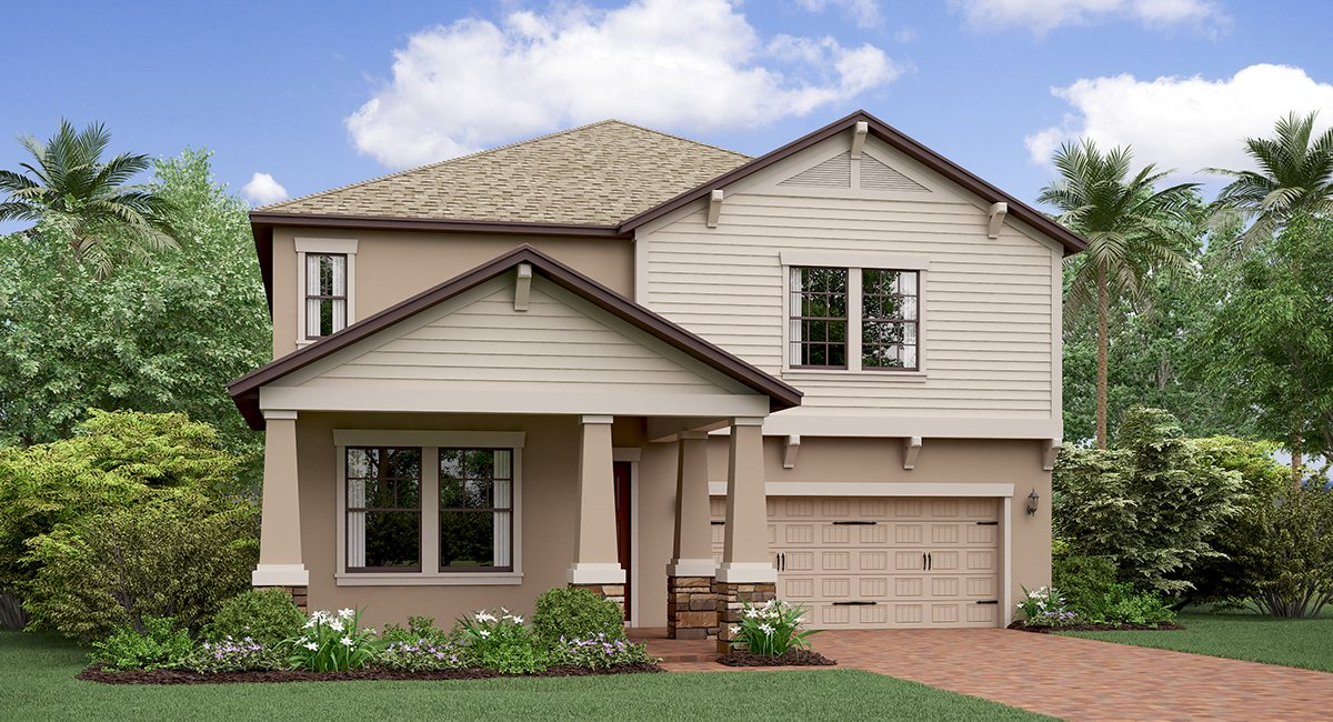 Shady Creek New Home Community Riverview Florida