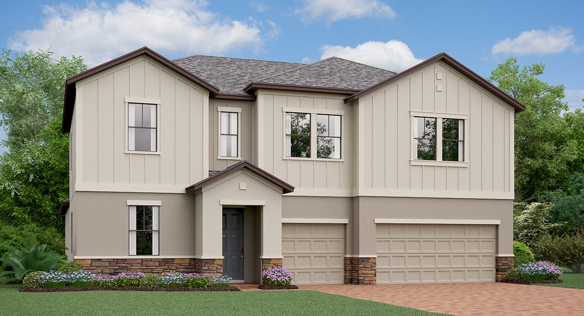 Belmont The  California Model Tour Ruskin Florida Real Estate | Ruskin Realtor | New Homes for Sale | Ruskin Florida